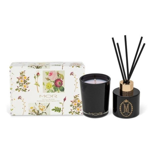 MOR In Full Bloom Marshmallow Petite Diffuser & Candle Gift Set