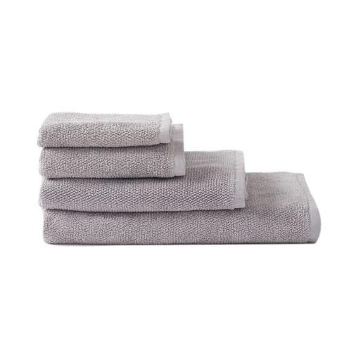 Citta Classic Organic Cotton Bath Mat Grey 55x83cm
