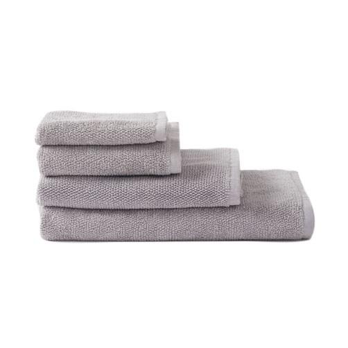 Citta Classic Cotton Hand Towel Grey 45x75cm
