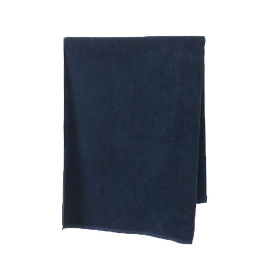 Citta Classic Cotton Bath Towel Navy 80x150cm