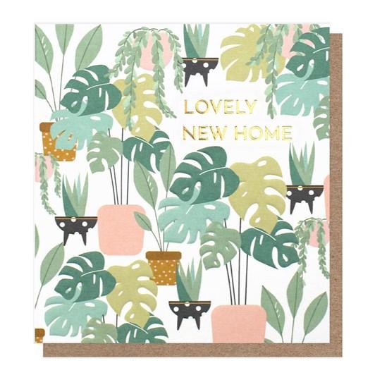 Caroline Gardner Lovely New Home House Plants Card