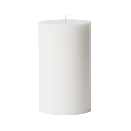 Citta Pillar Candle White XL 10.5cmdiax18cmh