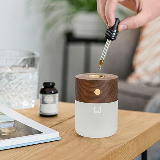 Gingko Smart Diffuser Lamp American Walnut