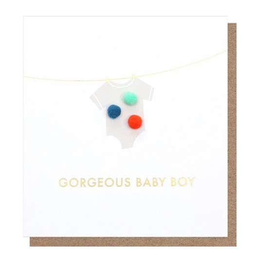 Caroline Gardner Gorgeous Baby Boy Mini Poms