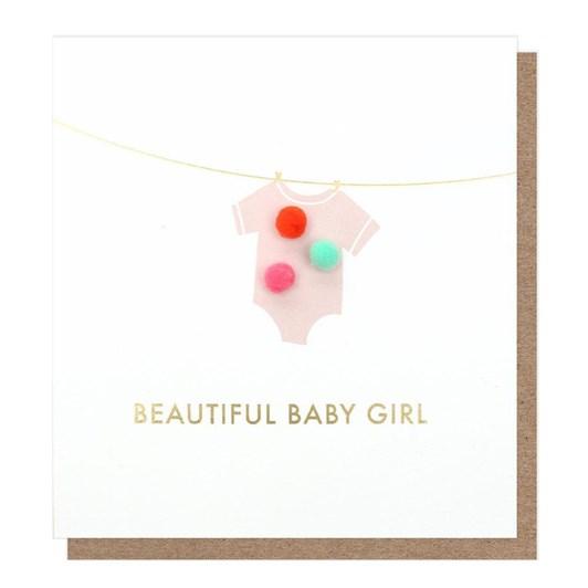Caroline Gardner Gorgeous Baby Girl Mini Poms