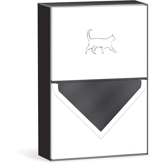 Punch Studio Walking Cat X10 Boxed Notecards