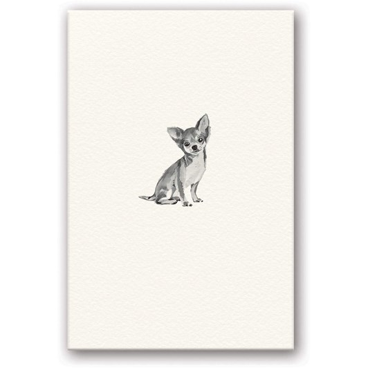 Chihuahua Embossed Card