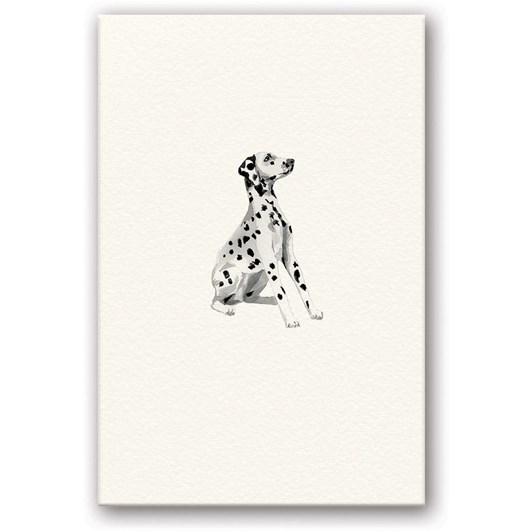 Dalmatian Embossed Card