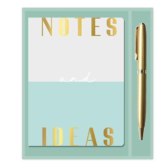 Image Gallery Two Tone: Notebook & Pen