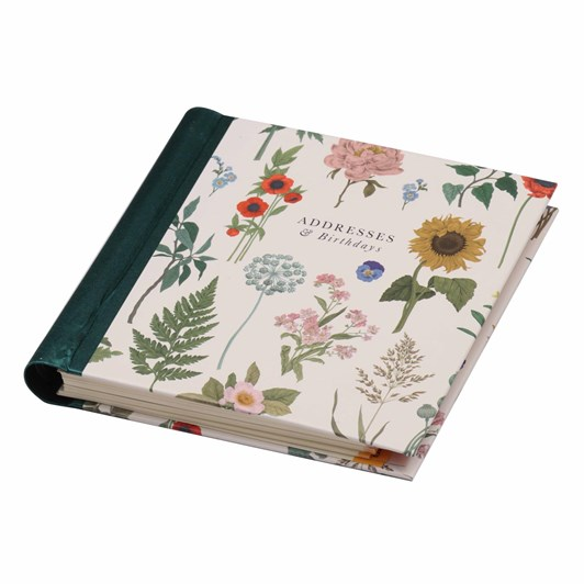 Image Gallery Address Bday Book: Floral