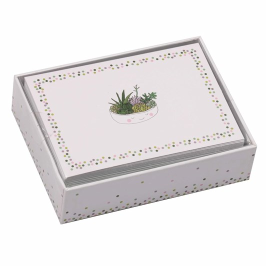 Image Gallery Notecards: Succulents