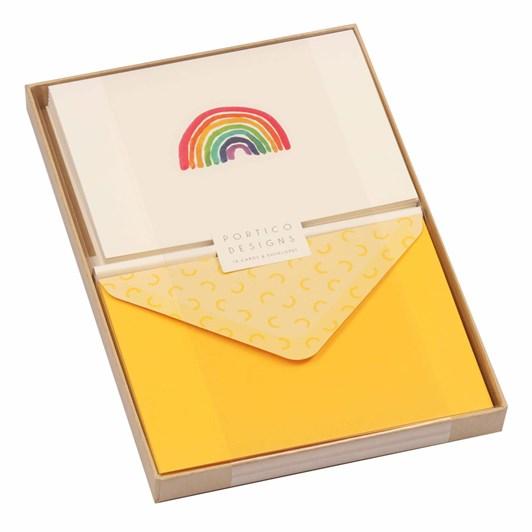 Image Gallery Notecards Box 10: Rainbow