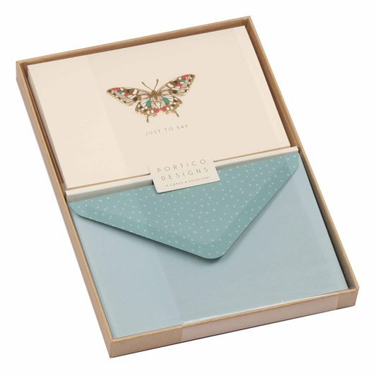 Image Gallery Notecards Box 10: Butterfly