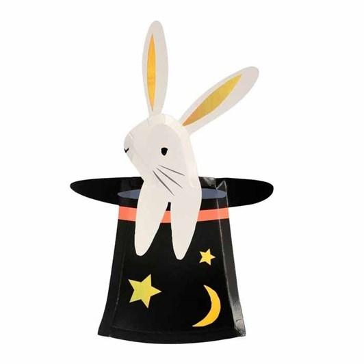 Meri Meri Bunny In Hat Shaped Plates