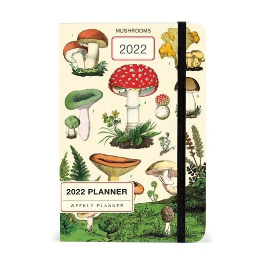 Cavallini Mushrooms 2022 Year Planner