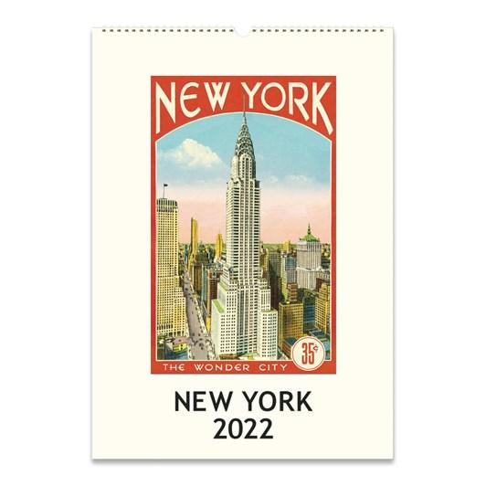 Cavallini New York 2022 Wall Calendar