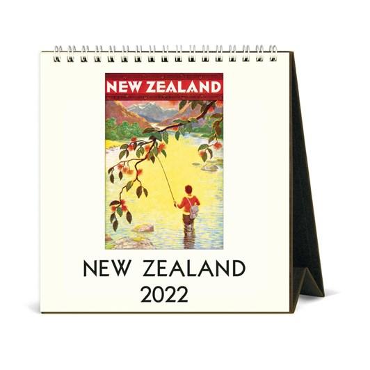 Cavallini New Zealand 2022 Desk Calendar