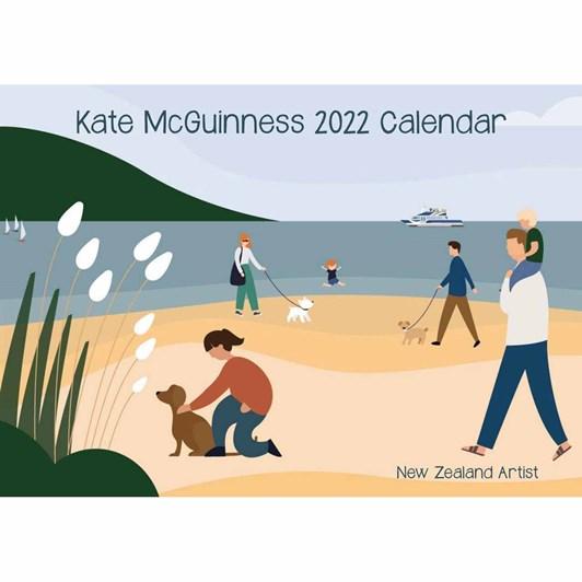 Kate Mcguiness 2022 Wall Calendar