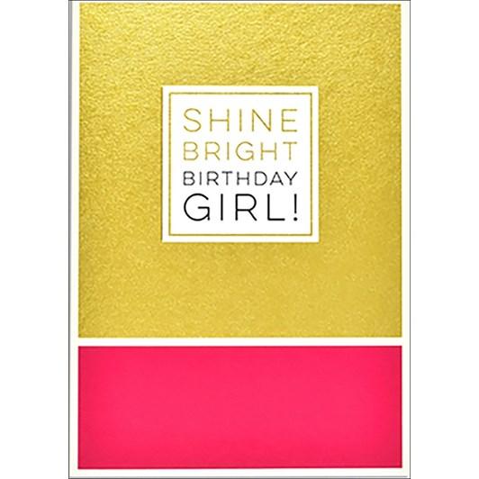 Image Gallery Roam Shine Bright Birthday Girl