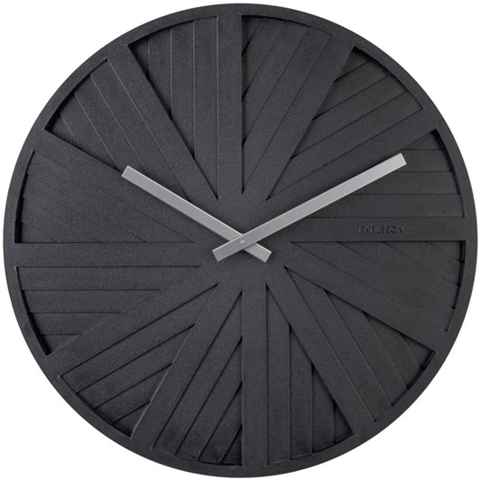 Karlsson Wall Clock Sides Black
