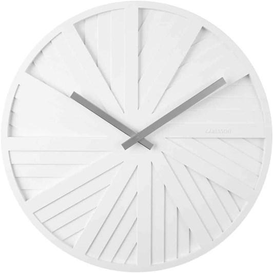 Karlsson Wall Clock Sides White