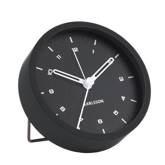 Karlsson Alarm Clock Tinge Black