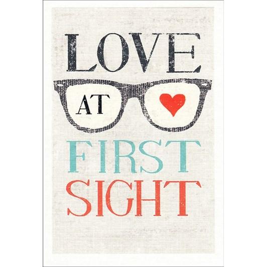 Hallmark Love At First Sight Card