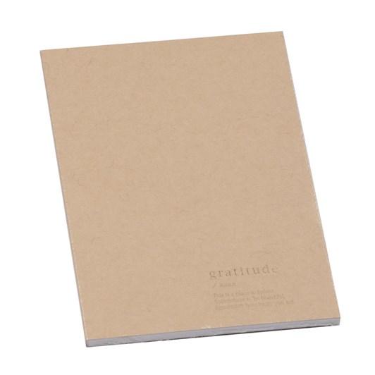 An Organised Life Gratitude Notebook Beige