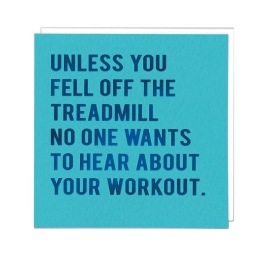 Workout Card
