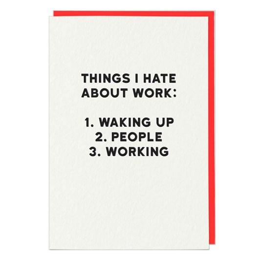 Work Card