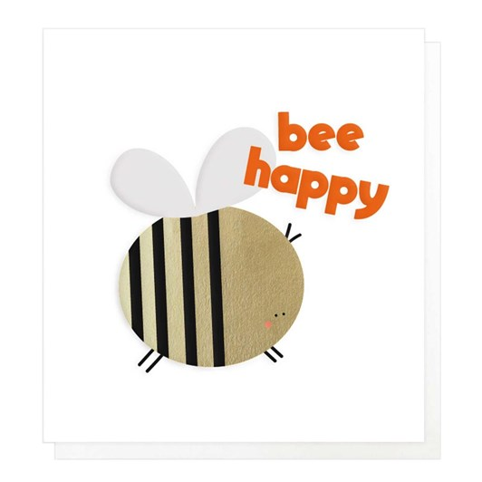 Caroline Gardner Bee Happy Card