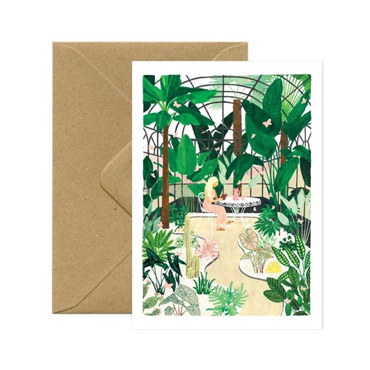 All The Ways Butterfly Green House Card