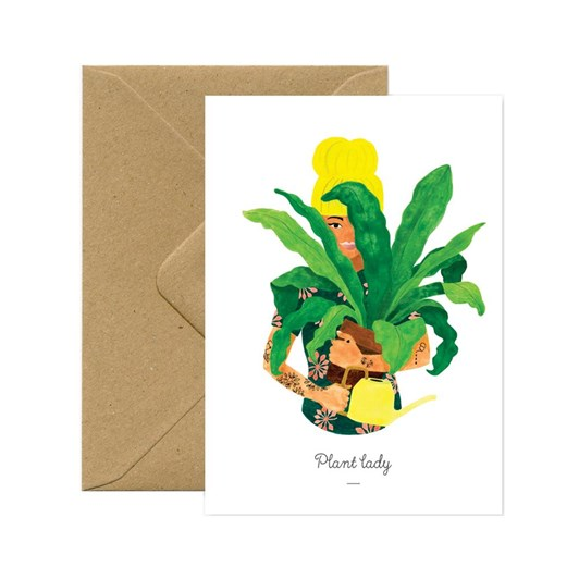 All The Ways Plant Lady Lifestyle Card
