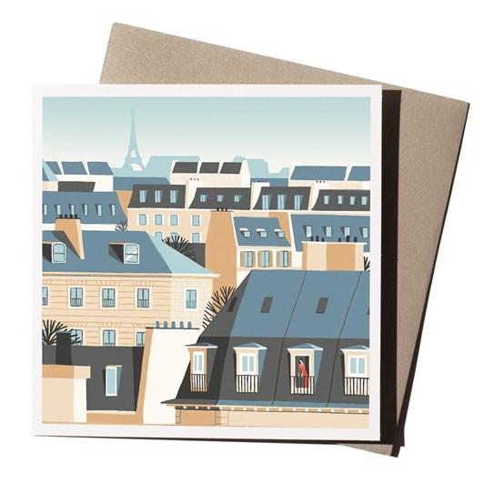 U Studio David Doran Paris Rooftops Card