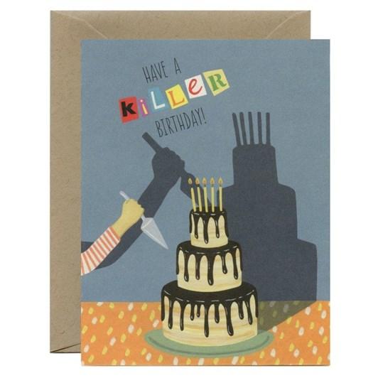 Yeppie Paper Killer Birthday Card