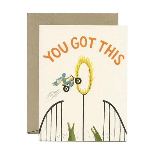 Yeppie Paper You Got This Card