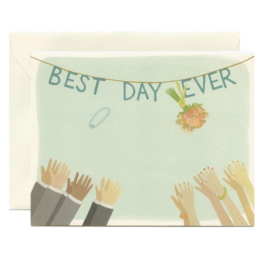 Yeppie Paper Best Day Ever Card