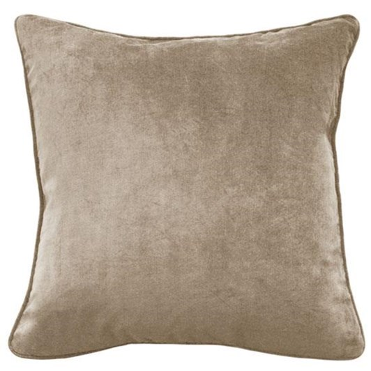 Mulberi Montpellier Cushion With Feather Inner 53 X 53Cm - Nougat