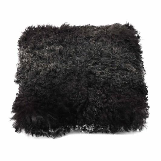 Fibre By Auskin Longwool Karakul Square Velvet Cushion 40cm