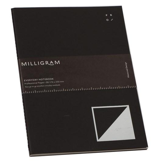 Studio Milligram Everyday Professional Notebook B5 Black