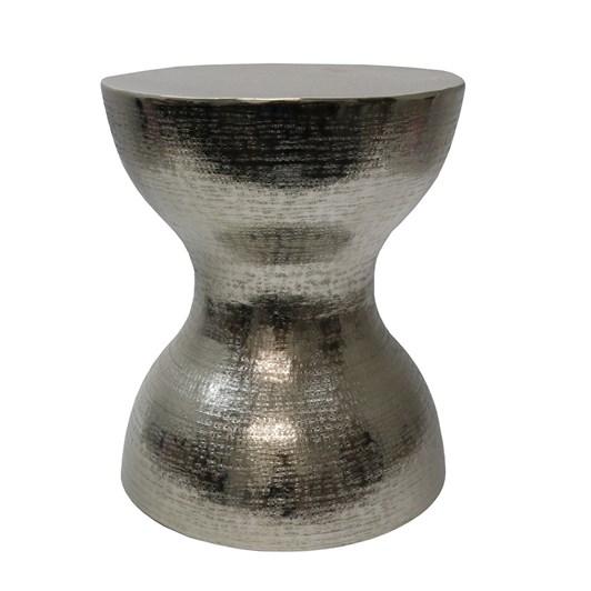 Aluminium Dumbell Stool Silver