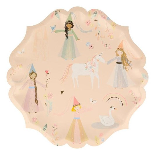 Meri Meri Princess Large Plates