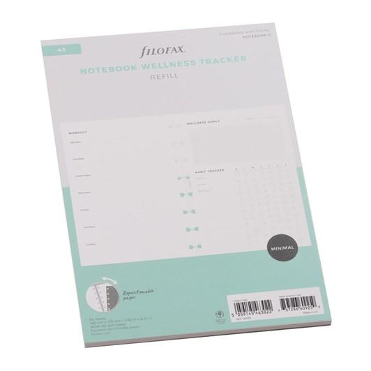 Filofax A5 Wellness Tracker Refill - 56 Sheet