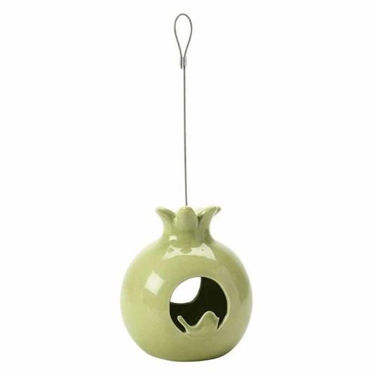 Burgon & Ball Sophie Conran Ceramic Bird Feed Pomegranate
