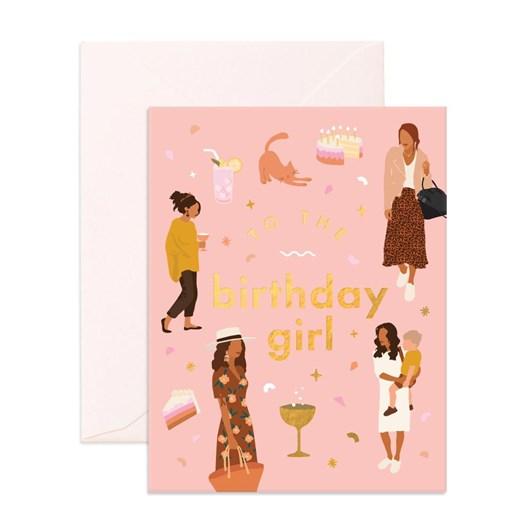 Fox & Fallow Muse Birthday Girl Card