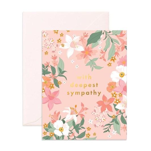 Fox & Fallow Deepest Sympathy Bohemia Card