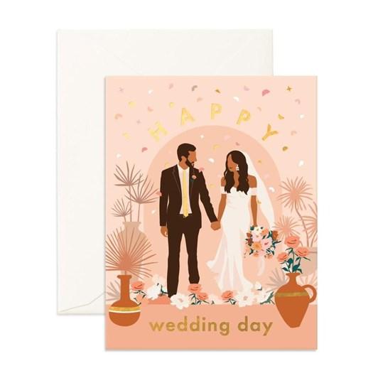 Fox & Fallow Happy Wedding Alter Card