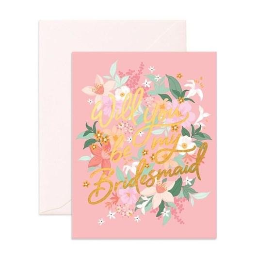 Fox & Fallow Will You Bridesmaid Bohemia Card