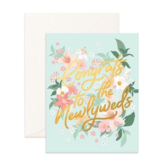 Fox & Fallow Congrats Newlyweds Bohemia Card