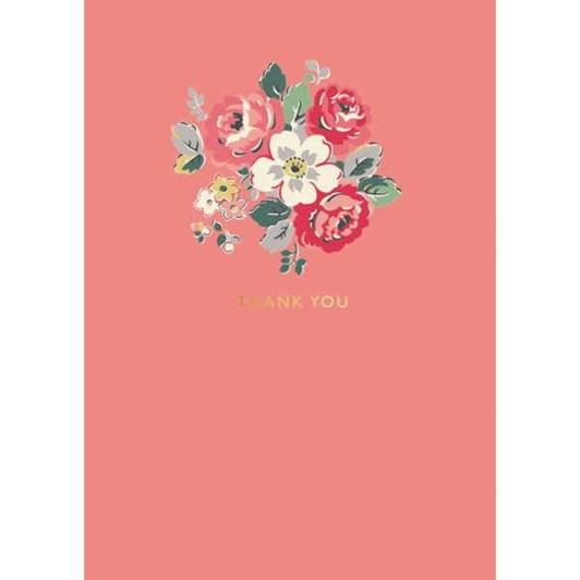 Thank You Floral Foil Card